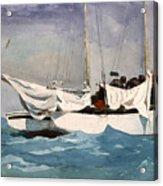 Key West Hauling Acrylic Print by Winslow Homer