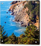 Kirby Cove San Francisco Bay California Acrylic Print by Utah Images