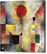Klee: Red Balloon, 1922 Acrylic Print by Granger