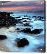 Koloa Dawn Acrylic Print by Mike  Dawson