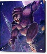Kong Acrylic Print by Ken Meyer jr