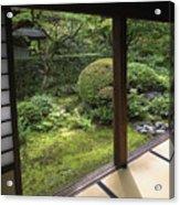 Koto-in Zen Temple Side Garden - Kyoto Japan Acrylic Print by Daniel Hagerman