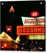 Krispy Kreme Doughnuts Atlanta Acrylic Print by Corky Willis Atlanta Photography