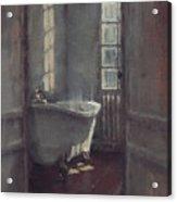 La Baignoire Sur Pieds Acrylic Print by Nicolas Martin
