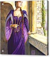Lady Ettard Acrylic Print by Melissa A Benson