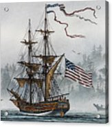 Lady Washington Acrylic Print by James Williamson