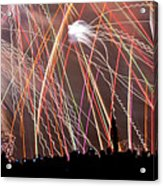 Lake Union July 4th Pb003 Acrylic Print by Yoshiki Nakamura