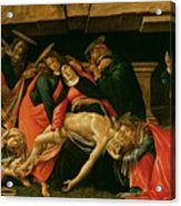 Lamentation Of Christ Acrylic Print by Sandro Botticelli