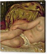 Large Nude Acrylic Print by Pierre Auguste Renoir