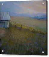 Last Farm Light Acrylic Print by Susan Jenkins
