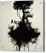 Last Tree Standing Acrylic Print by Nicklas Gustafsson