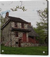 Layfayette's Headquarters At Brandywine Acrylic Print by Gordon Beck