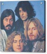 Led Zeppelin Acrylic Print by Donna Wilson