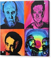 Legends Of Laughter Acrylic Print by Bill Manson