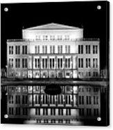 Leipzig Panorama Acrylic Print by Marc Huebner