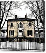 Lemon Hill Mansion - Philadelphia Acrylic Print by Bill Cannon
