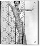 Lena Horne. Ca. 1950s. Courtesy Csu Acrylic Print by Everett