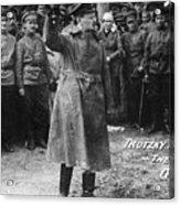 Leon Trotsky (1879-1940) Acrylic Print by Granger