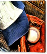 Let's Play Ball Acrylic Print by Jimmy Ostgard
