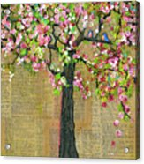 Lexicon Tree Of Life 4 Acrylic Print by Blenda Studio