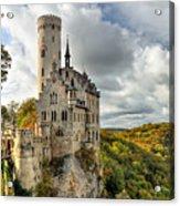 Lichtenstein Castle Acrylic Print by Ryan Wyckoff