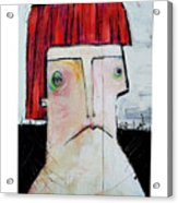Life As Human Number Seven Acrylic Print by Mark M  Mellon