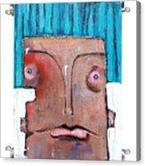 Life As Human Number Six Acrylic Print by Mark M  Mellon