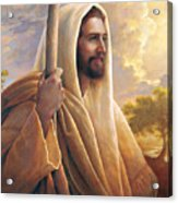Light Of The World Acrylic Print by Greg Olsen