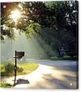 Light The Way Home Acrylic Print by Guy Ricketts