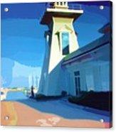 Lighthouse Acrylic Print by Deborah MacQuarrie-Haig