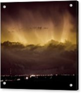 Lightning Cloud Burst Boulder County Colorado Im29 Acrylic Print by James BO  Insogna