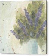 Lilacs Acrylic Print by Ken Powers