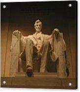 Lincoln Memorial Acrylic Print by Brian McDunn