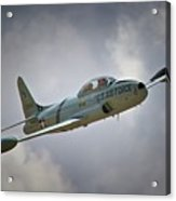 Lockheed P-80 Shooting Star 2011 Chino Air Show Acrylic Print by Gus McCrea