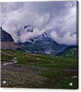 Logans Pass Acrylic Print by Christopher Lugenbeal