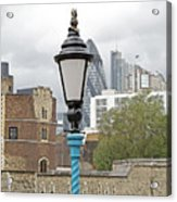London Old And New Acrylic Print by Ann Horn