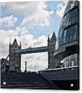 London Tower Bridge Acrylic Print by Dawn OConnor