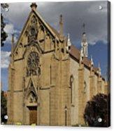 Loretto Chapel - Santa Fe Acrylic Print by Mike McGlothlen