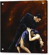 Lost In Tango Acrylic Print by Richard Young