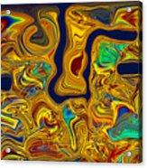 LSD Acrylic Print by Omaste Witkowski