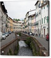 Lucca Acrylic Print by Steven Gray