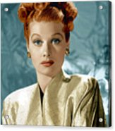 Lucille Ball Acrylic Print by Everett Collection