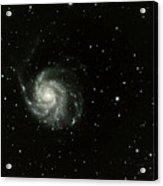 M-101, The Pinwheel Galaxy Acrylic Print by A. V. Ley
