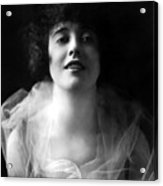 Mabel Normand, Ca. 1918 Acrylic Print by Everett