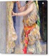 Mademoiselle Fleury In Algerian Costume Acrylic Print by Pierre Auguste Renoir