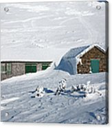 Madison Spring Hut- White Mountains New Hampshire Acrylic Print by Erin Paul Donovan