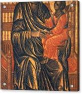 Madonna Icon, 13th Century Acrylic Print by Granger
