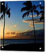 Mai Ka Aina Mai Ke Kai Kaanapali Maui Hawaii Acrylic Print by Sharon Mau
