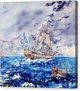Maiden Voyage Acrylic Print by Richard Barham