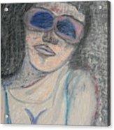 Maine Woman Acrylic Print by Marwan George Khoury